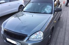 В Самаре в реанимацию попал пешеход, угодивший под машину на ул. Гагарина