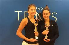 Самарчанка Анастасия Гурьева стала победителем международного юношеского турнира по теннису в парном разряде