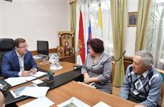 Дмитрий Азаров провел личный прием граждан в Сергиевском районе