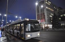Парк электротранспорта Саратова пополнился новыми троллейбусами