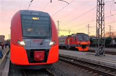 """К 2023 году число пассажиров скоростных поездов """"Ласточка"""" превысит 1 миллион человек в год"""