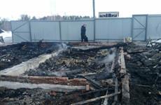 """В дачном кооперативе около базы отдыха """"Хуторок озерный"""" снова случился пожар"""