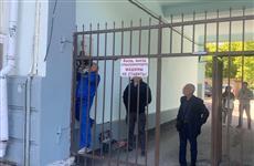 В одном из самарских дворов снесли электронные ворота, мешающие проезду экстренных служб