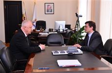 Глеб Никитин обсудил с Александром Алексеевым работу балахнинской общественной экспертной комиссии по гидроузлу