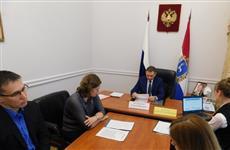 В рамках рабочей поездки в Самарскую область Сергей Валенков провел прием граждан