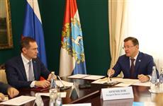 Глава региона и руководство Сбербанка обсудили вопросы сотрудничества