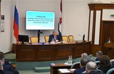Глава Мордовии провел совещание по реализации национальных проектов в отраслях социальной сферы