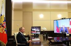 Президент России обсудил с Александром Бречаловым приоритетные направления развития Удмуртии