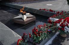 В День защитника Отечества губернатор возложил цветы к Вечному огню