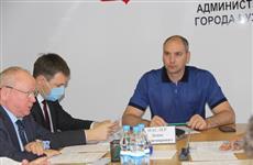 Денис Паслер провел совещание по ситуации с пожарами в регионе