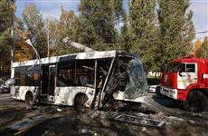В Самаре автобус врезался в столб, пострадали семь человек
