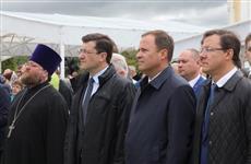 Дмитрий Азаров принял участие в торжествах по случаю 265-летия Серафима Саровского