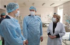 Губернатор проверил готовность больницы №5 Нижнего Новгорода к приему пациентов с коронавирусом