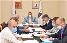 Глава Марий Эл принял участие в заседании с Маратом Хуснуллиным