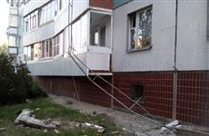 В Тольятти кран повредил многоэтажку