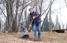 Губернатор Прикамья Дмитрий Махонин принял участие в уборке территории Парка Победы в Полазне