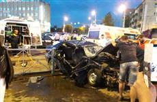 На перекрестке в центре Пензы в ДТП погиб один человек