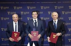 Глеб Никитин подписал допсоглашение с Минспорта РФ, РФС и региональной федерацией футбола