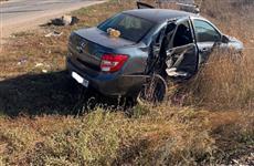 В Похвистневском районе Lada Granta не пропустила Toyota, водитель иномарки отказался от медосвидетельствования