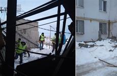 В Новокуйбышевске кровля дома рухнула на потолок квартиры