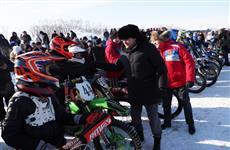 Артем Здунов открыл соревнования по мотокроссу в Рузаевском районе