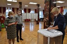Военный городок Комаровский в Оренбуржье в первый день голосования показал явку в 41%