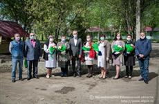 Сергей Морозов наградил медиков Карсунской райбольницы за вклад в борьбу с коронавирусом