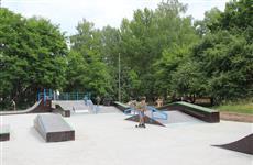 В Отрадном реконструируют парк