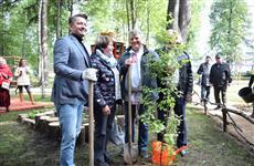 В Ижевске состоялось открытие Сада дружбы народов