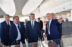 Валерий Радаев и Олег Белозеров обсудили новые инфраструктурные проекты