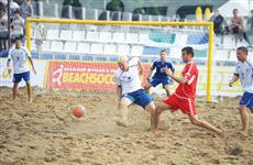 Команда по пляжному футболу стала призером чемпионата России