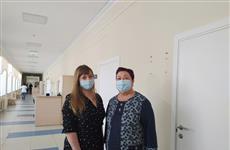 В Самаре пациентка встретилась с донором антиковидной плазмы