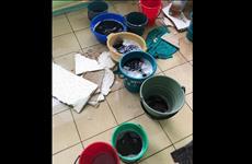 Пациенты Чапаевской ЦГБ возмущены протекающей крышей