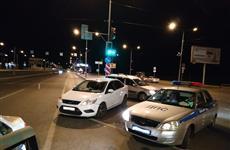 В Самаре нетрезвая автоледи устроила ДТП на пересечении Московского шоссе и ул. Алма-Атинской