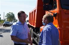 Дмитрий Азаров поблагодарил строителей моста через Сок за досрочное открытие движения