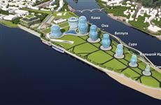 Презентован один из проектов развития территории на стрелке рек Самары и Волги