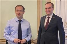 Артем Здунов провел рабочую встречу с помощником президента РФ Владимиром Мединским