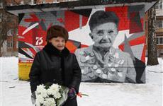Шестое граффити с изображением портрета ветерана войны появилось в Нижнем Новгороде