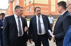 Алексей Песошин посетил с рабочей поездкой Арский район