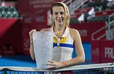 Анастасия Павлюченкова выиграла турнир в Гонконге