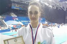 Тольяттинка София Редькина завоевала бронзу первенства России по дзюдо