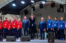 В Уфе состоялась церемония закрытия Летних Международных детских игр