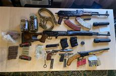 Сотрудники ФСБ изъяли у самарца арсенал оружия и боеприпасов