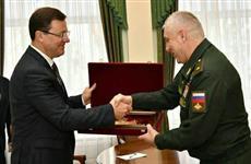 Дмитрий Азаров пожелал самарским миротворцам, отправившимся в Нагорный Карабах, сил и выдержки