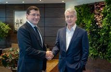 Глеб Никитин и Сергей Собянин провели рабочую встречу в Москве