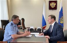 Дмитрий Азаров и Николай Шишкин обсудили вопросы реализации нацпроектов в регионе
