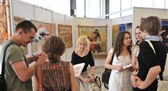 На выставке гобеленов свои работы представили мастера со всей России