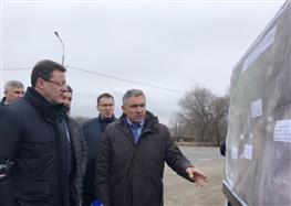 Губернатор посетил с рабочим визитом Красноармейский район