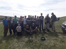 Соревнования по рыбной ловле в Хилково