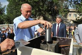 Николай Меркушкин: «Строительство нового предприятия в Чапаевске придаст второе дыхание городу»